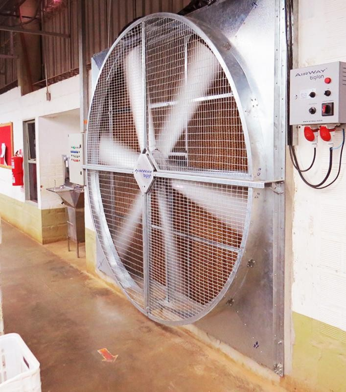 Conforto térmico industrial