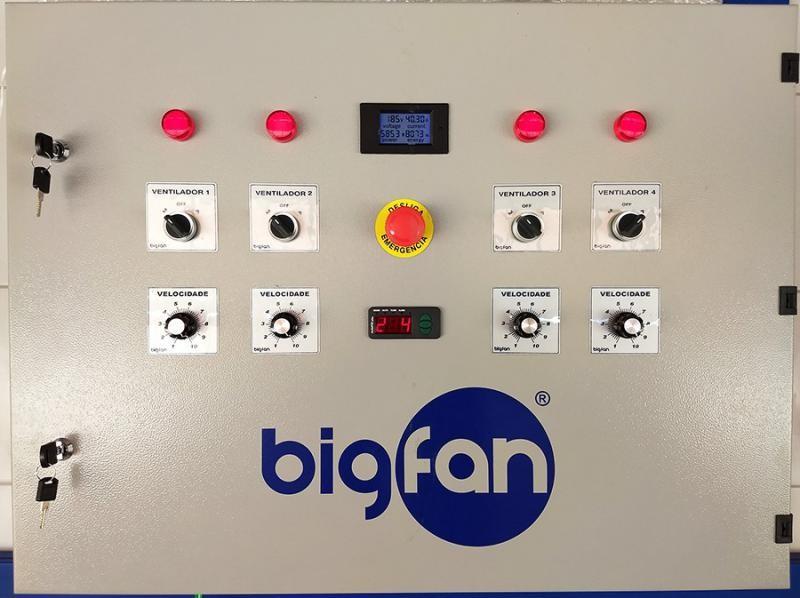 Ventilador industrial para galpão